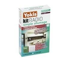 YOKIS Power Kit radio simple allumage télécommande murale et télérupteur  - KITRADIOSAP