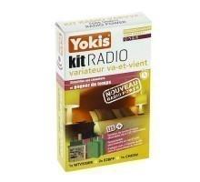 YOKIS Power Kit radio va et vient 1 télévariateur et 2 émetteurs radio - KITRADIOVARVVP