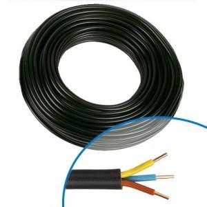 /h07/V H07/V-K 1,5/mm/²/ /Couleur: Bleu fonc/é 10/m//15/m//20/m//25/m//30/m//35/M//40/m//45/m//50/ C/âble de simple fil flexible Bleu/ /PVC/