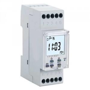 Minuterie Interrupteur Horaire Et Horloge Modulaire 123elec Com