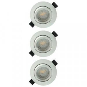 Spot encastré pour l\'éclairage intérieur, spot orientable et fixe ...