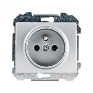 Ancienne prise de courant 2er RDA Combi Double prise de courant tenue d/'apparat plusieurs fois Prise de courant