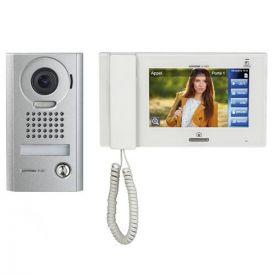 """Kit visiophone 7"""" en saillie avec caméra grand angle - JPS4AEDV AIPHONE"""