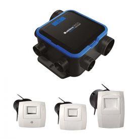 ALDES Kit VMC simple flux hygroréglable EasyHOME COMPACT Micro Watt - 11033051