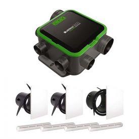 ALDES Kit VMC simple flux EasyHOME PureAIR COMPACT Premium - 11033060
