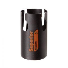 BAHCO Scie trépan multiconstruction D40mm P71mm - 3833-40-C