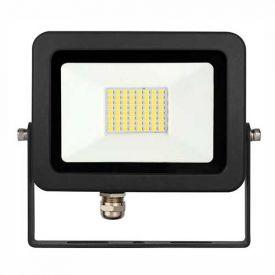 Projecteur extérieur LED Sky extra plat 230V 30W 3500lm 3000K noir - BENEITO FAURE
