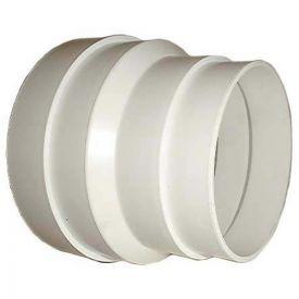 DMO Réduction conique en PVC de 100mm à125mm