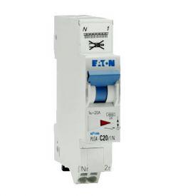 EATON Disjoncteur 20A auto Ph+N Courbe C 4.5kA 230V - 109131