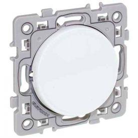 EUROHM Square Interrupteur va et vient blanc - 60201