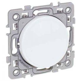 Bouton poussoir EUROHM Square blanc - 60202