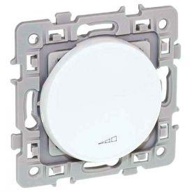 EUROHM Square Interrupteur variateur sans neutre toutes charges 500W blanc - 60219