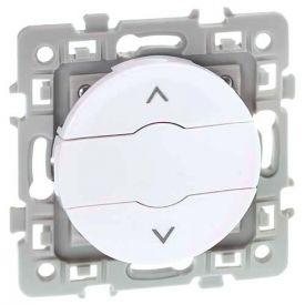 EUROHM Square Interrupteur volets roulants blanc - 60223