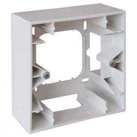 EUROHM Square Cadre saillie simple P40 blanc - 60291