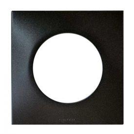EUROHM Square Plaque simple anthracite - 60390