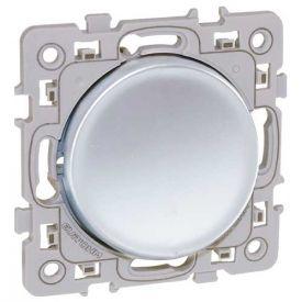 EUROHM Square Interrupteur va et vient silver - 60401