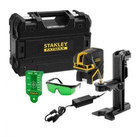 STANLEY Niveau laser vert croix + 2 points à batterie - Fatmax - FMHT77597-1