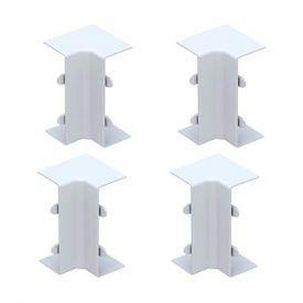 GGK Angles intérieurs pour moulure électrique 15x30mm blanc - lot de 4
