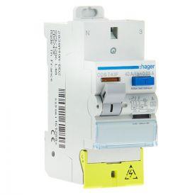 HAGER Interrupteur différentiel type A bornes AUTO 40A 30mA