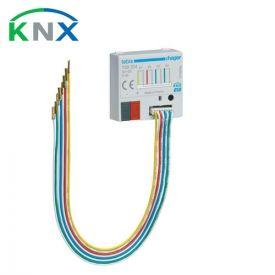 HAGER KNX Interface bouton poussoir 4 entrées universelles à encastrer - TXB304