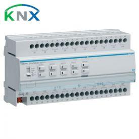 HAGER KNX Actionneur de commutation 20 sorties multifonctions 16A 230V - TXM620D