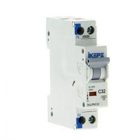 IKEPE Disjoncteur 32A Ph+N courbe C 4.5kA 230V