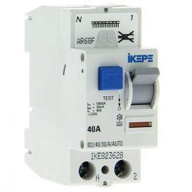 IKEPE Interrupteur différentiel 40A 30mA type A auto 230V