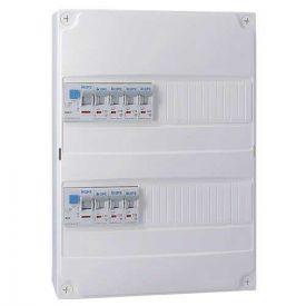 Tableau électrique pré équipé IKEPE auto 2 rangées 2ID 40A 7 disjoncteurs