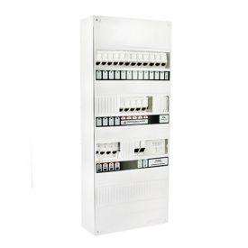 IKEPE Coffret de communication Grade 3TV - 12RJ45 modulaire avec DTIO