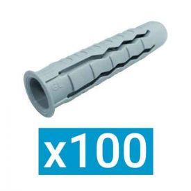 ING FIXATIONS Cheville nylon polyvalente 6x30 - Boite de 100 - A170212