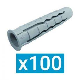 ING FIXATIONS Cheville nylon polyvalente 8x40 - Boite de 100 - A170214
