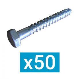 ING FIXATIONS Tire-fond 6x60 - Boite de 50 - A199410