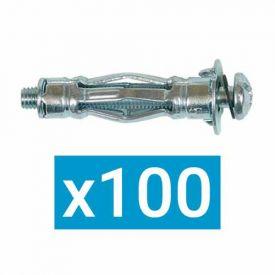 ING FIXATIONS Cheville métallique à expansion 5x52 + vis - Boite de 100 - A506123