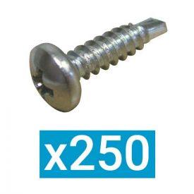 ING FIXATIONS Vis autoforeuse PH 4.2 x 38 - Boite de 250 - A540054