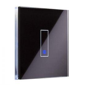 IOTTY Interrupteur connecté tactile WIFI en verre noir - LSWE21B