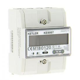 KETLER Compteur d'énergie 80A Tétra certifié MID - KE8007