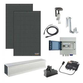 Kit solaire autoconsommation 600W DUALSUN + micro-onduleur APS - toiture tuile