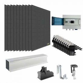 Kit solaire autoconsommation 3000W DUALSUN + micro-onduleurs ENPHASE - toiture tuile