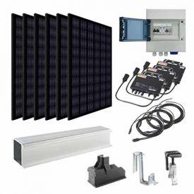 Kit solaire autoconsommation 1800W EURENER + micro-onduleurs APS - toiture tuile