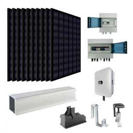 Kit solaire autoconsommation 3000W EURENER + onduleur HUAWEI - toiture tuile