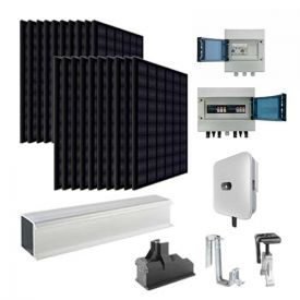 Kit solaire autoconsommation 6000W EURENER + onduleur HUAWEI - toiture tuile