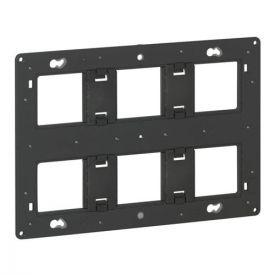 LEGRAND Batibox Support 2x3 postes pour fixation à vis - 080266