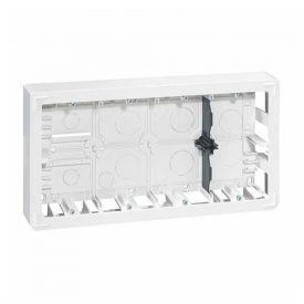 LEGRAND Mosaic Cadre saillie 2x5 postes P50 blanc - 080278