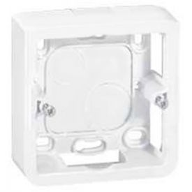 LEGRAND Mosaic Cadre saillie simple P40 blanc - 080281