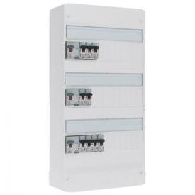 LEGRAND Drivia Tableau électrique pré-équipé auto 3 rangées 2ID 63A 1ID40 9 disjoncteurs