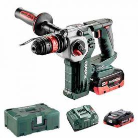 METABO Marteau perforateur burineur sans fil 18V 4Ah + 5,5Ah KHA 18 LTX BL 24 Quick - 600211540