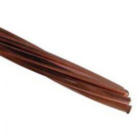 Tresse de cuivre nue 25mm² pour mise à la terre - Prix au mètre