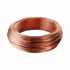 Tresse de cuivre nue 25mm² pour mise à la terre - Couronne 25m