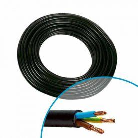 NEXANS Câble électrique RO2V 3G6² - Couronne de 50m