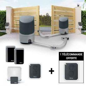 NICE Pop Kit de motorisation pour portail battant - Arrivage 123elec